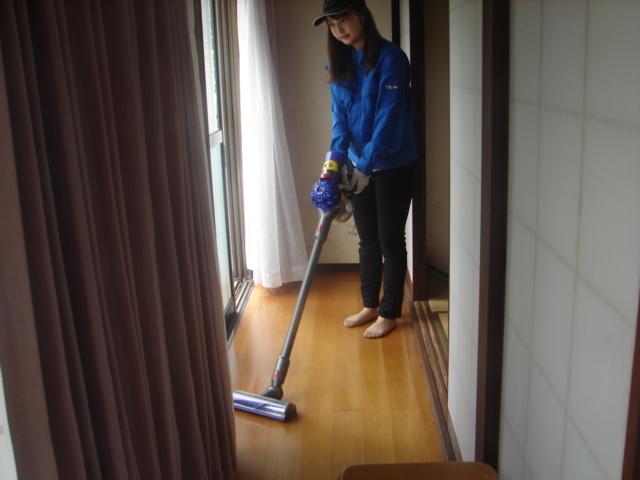 室内の清掃